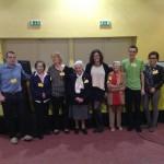 alcuni attivisti con le socie fondatrici di amnesty international italia