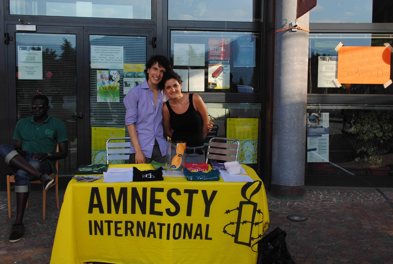 Giorgio e Clelia: due attivisti di Amnesty