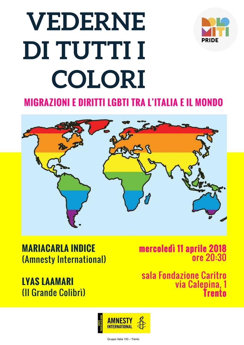 vederne di tutti i colori - migrazioni e LGBTI